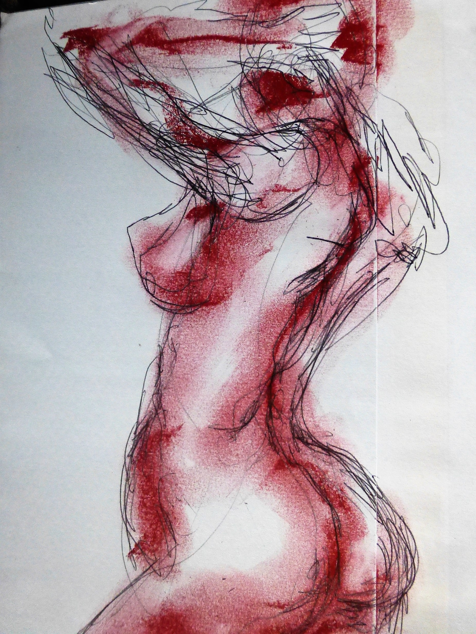 dessin de fesse par vladimir mitz