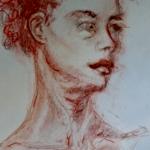 le beau cou , dessin V.MITZ